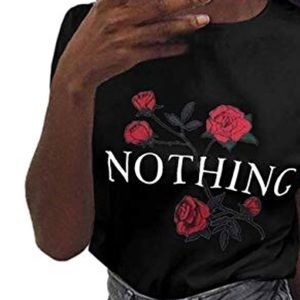 Nothing Roses Crop Top Sweater